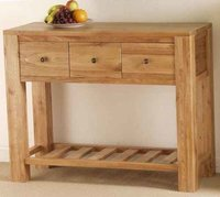 Wooden Chest Drawer With Rack