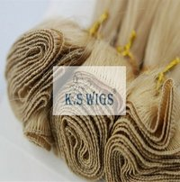 Light Color Hand-Tied Hair Extensions