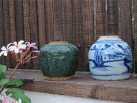 Porcelain Ginger Jars