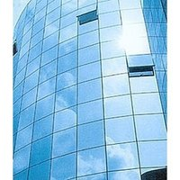 Engraved Glass Structure