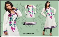 Crosio Embroidered Kurtis