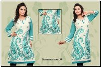 Fully Embroidered Kurtis