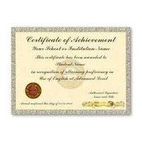 Certificate Paper Printing