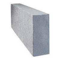 Solid Lightweight Concrete Blocks