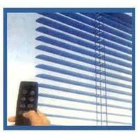 Motorized Twin Glass Blinds
