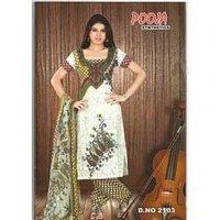Chiffon Dupatta Salwar Suit (Jeenat)