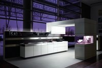 Modern Purple Color Kitchen Design Service