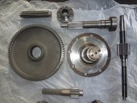 Gdr Combine Gear And Shaft