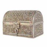 Silver Jewellery Box