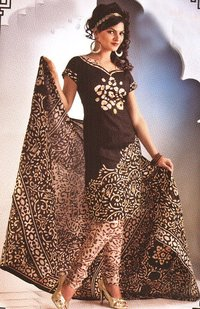 Printed Cotton Salwar Suits