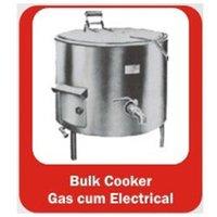 Bulk Cooker Gas Cum Electrical