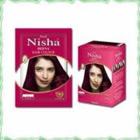 Burgundy Hair Color (Nisha)