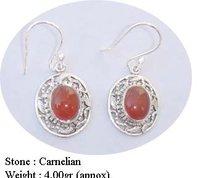 Carnelian Stone Earring