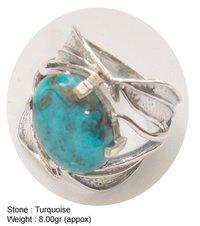 Torquoise Design Ring