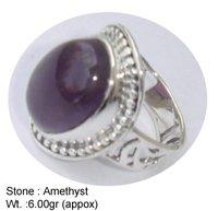 Amethyst Classic Designer Ring
