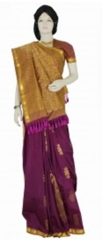 Attractive Kanchipuram Saree
