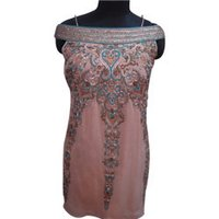 Heavy Embroidered Indo Western Dress