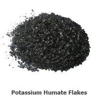 Potassium Humate Shiny Flakes