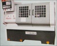 Cnc Low Cost Flat Bed Lathe Machine