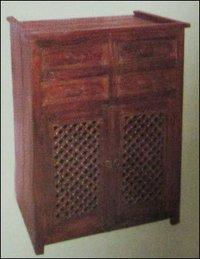 Two Door Wooden Chest