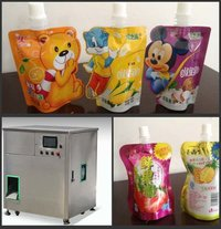 Stand Up Pouch Filling Capping Packing Machine