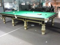 Designer Snooker Table In Steel Cushion
