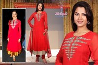 Ladies Red Salwar Suits