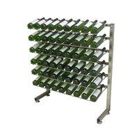 Metal Caster Beverage Display Rack