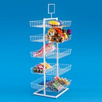 Double Sided Basket POP Display