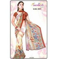 Double Shaded Designer Saree