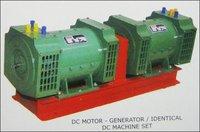 Dc Motor Generator Set