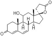 (11a,17a)-11,17-Dihydroxy-3-Oxo-Pregna-4,6-Diene-21-Carboxylic Acid (11-Alpha-Hydroxy Canrenone)