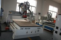 ATC Machine Tools in Circle Moves with Gantry