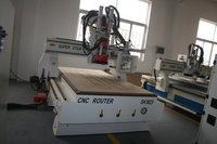 ATC Machine Tools In Circle Moves Wood Working Machine