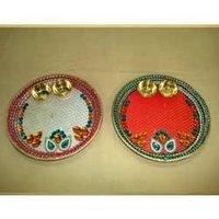 Decorative Pooja Dish Small
