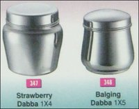 Stainless Steel Strawberry Dabba