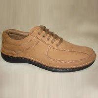 Men Party Wear Brown Color Shoe