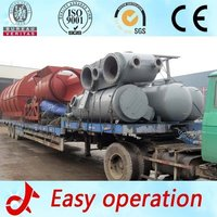 Fully Automatic Waste Tyre Pyrolysis Machine