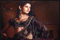 Fancy Black Saree