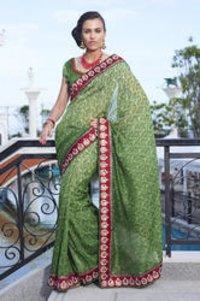 Latest Designer Silk Saree