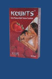 Kounts Strawberry Condom