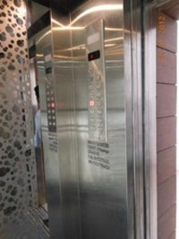 Lift With Glass