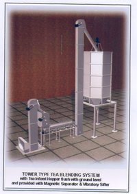 Tower And Silo Type Blending Machine
