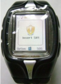 4 Bands Watch Mobile Phone
