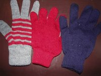 Acrylic Woolen Gloves