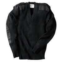 Military Jersey Sweater