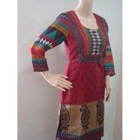 Bhagalpuri Silk Stylish Kurtis