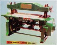 610 And 650 Die Cutting Machine