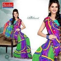 Stylish Printed Cotton Saree