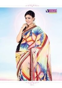 Printed Ladies Cotton Saree